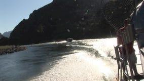 River rafting Hells Canyon Snake River Idaho stock footage