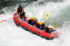 River Rafting Royalty Free Stock Image