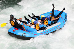 River Rafting Royalty Free Stock Photos