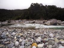 River Rapid and boulders Royalty Free Stock Images