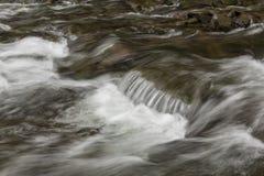 River Rapids. A closeup of river rapids Stock Photo