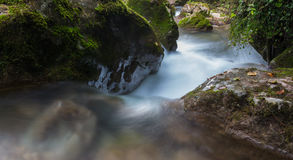 River rapids. At Mixnitz in Styria, Austria Royalty Free Stock Photo