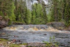 River rapids. Stock Photo