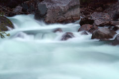 River rapids and stones Royalty Free Stock Photography