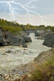 River rapids Royalty Free Stock Photo