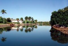 River reflection. A Reflection of florida Stock Photos