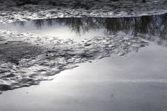 River Reflections Royalty Free Stock Images