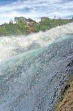 River Rhine falls, HDR Stock Image
