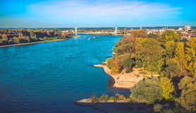 The river Rhine Royalty Free Stock Images