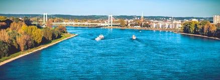 The river Rhine Stock Photos