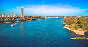 The river Rhine Royalty Free Stock Photos