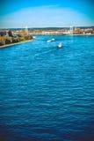 The river Rhine Stock Image