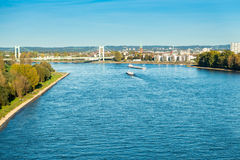 The river Rhine Stock Photo
