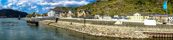 River Rhine royalty free stock image