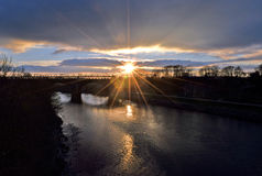 River Ribble Viaduct Stock Images