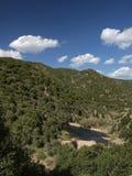 River Rio Cannas, Southeast Sardinia, Italy Royalty Free Stock Images