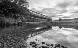 River Road Bridge Stock Photography