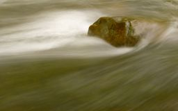 River and Rock Royalty Free Stock Image