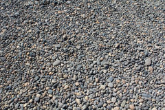River rock gravel bed Royalty Free Stock Images
