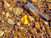 river rock kamień wody Zdjęcia Stock