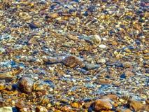 river rock kamień wody Obraz Stock