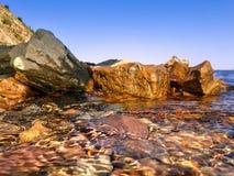 river rock kamień wody Fotografia Stock