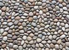 River Rock Patterned Wall. Royalty Free Stock Image