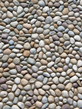 River Rock Patterned Wall. Royalty Free Stock Photography