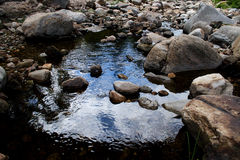River and rocks. The river with rocks in the morning Stock Image