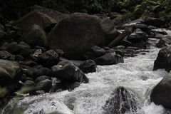 River with Rocks Royalty Free Stock Photography