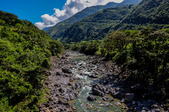 River with rocks in Guatemala Stock Photos