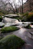 River with rocks in the Peak District Royalty Free Stock Photos