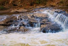 River rocks and Rapids Royalty Free Stock Photos