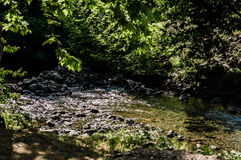 River With Rocks And Stones Royalty Free Stock Images