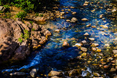 River With Rocks And Stones Royalty Free Stock Photo