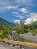 River in rocky mountains Stock Photography