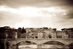 River Rome Stock Photo