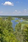 River Ros summer landscape, Ukraine Royalty Free Stock Photo