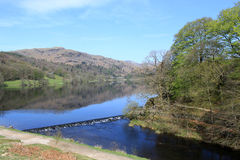 River Rothay, Grasmere and Silver Howe, Cumbria Stock Photo