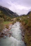 River Rotte in Valais Royalty Free Stock Photos