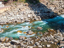 River in Rudraprayag Stock Images