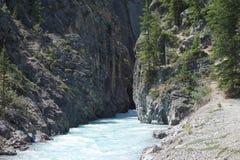 A river running through a canyon Stock Photo