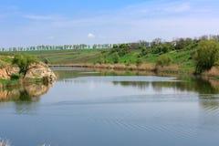 River's landscape Stock Images
