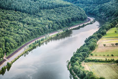 River Saar in Germany Stock Photography
