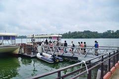 River Safari Boat Ride Cruise Royalty Free Stock Photos