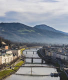 River Salzach Royalty Free Stock Image