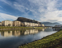 River Salzach Stock Photography
