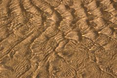 River Sand Ripples 02 Royalty Free Stock Photos