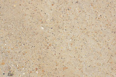 River sand. View from above. Background Stock Image