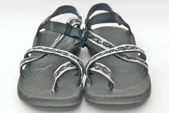 River Sandals. Just What You Need For A Day At The River Royalty Free Stock Photo